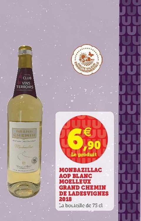 U Express Monbazillac Aop Blanc Moelleux Grand Chemin De Ladesvignes 2018