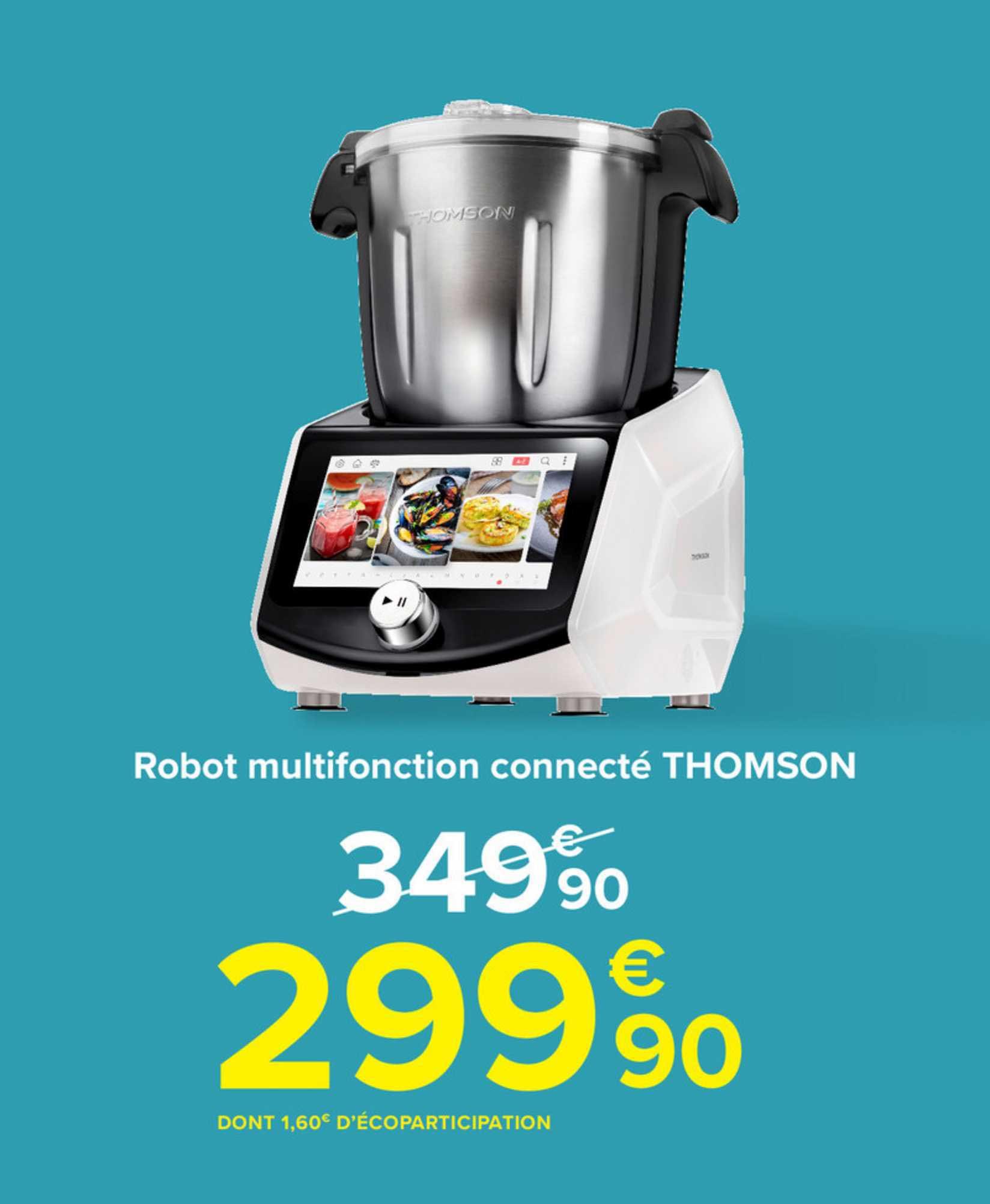 Carrefour Robot Multifoncion Connecté Thomson