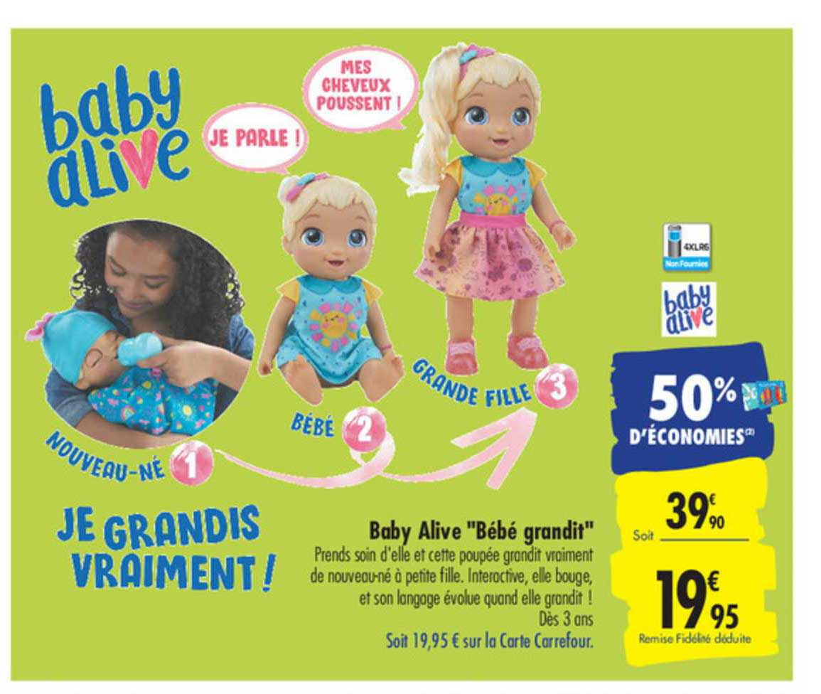 Carrefour Baby Alive