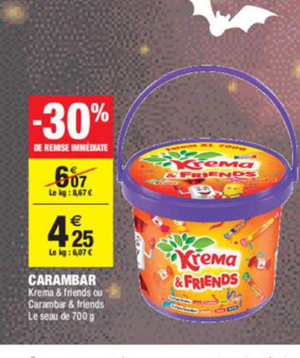 Carrefour Market Carambar -30% De Remise Immédiate