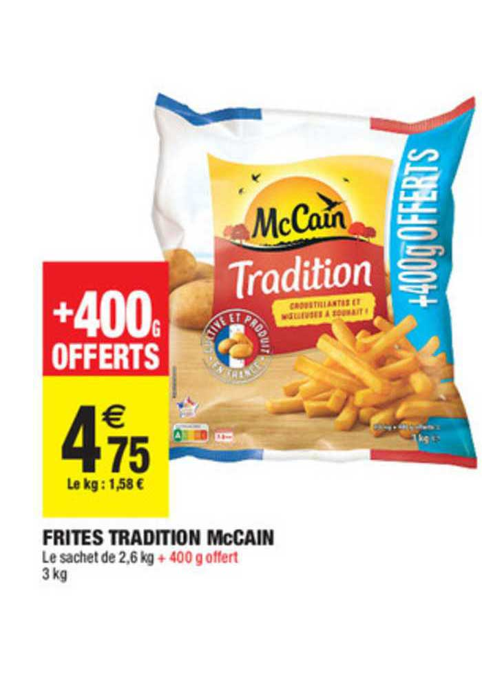 Carrefour Market Frites Tradition Mccain