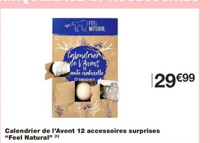 Monoprix Calendrier De L'avent 12 Accessoires Surprises