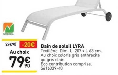 WELDOM Bain De Soleil Lyra