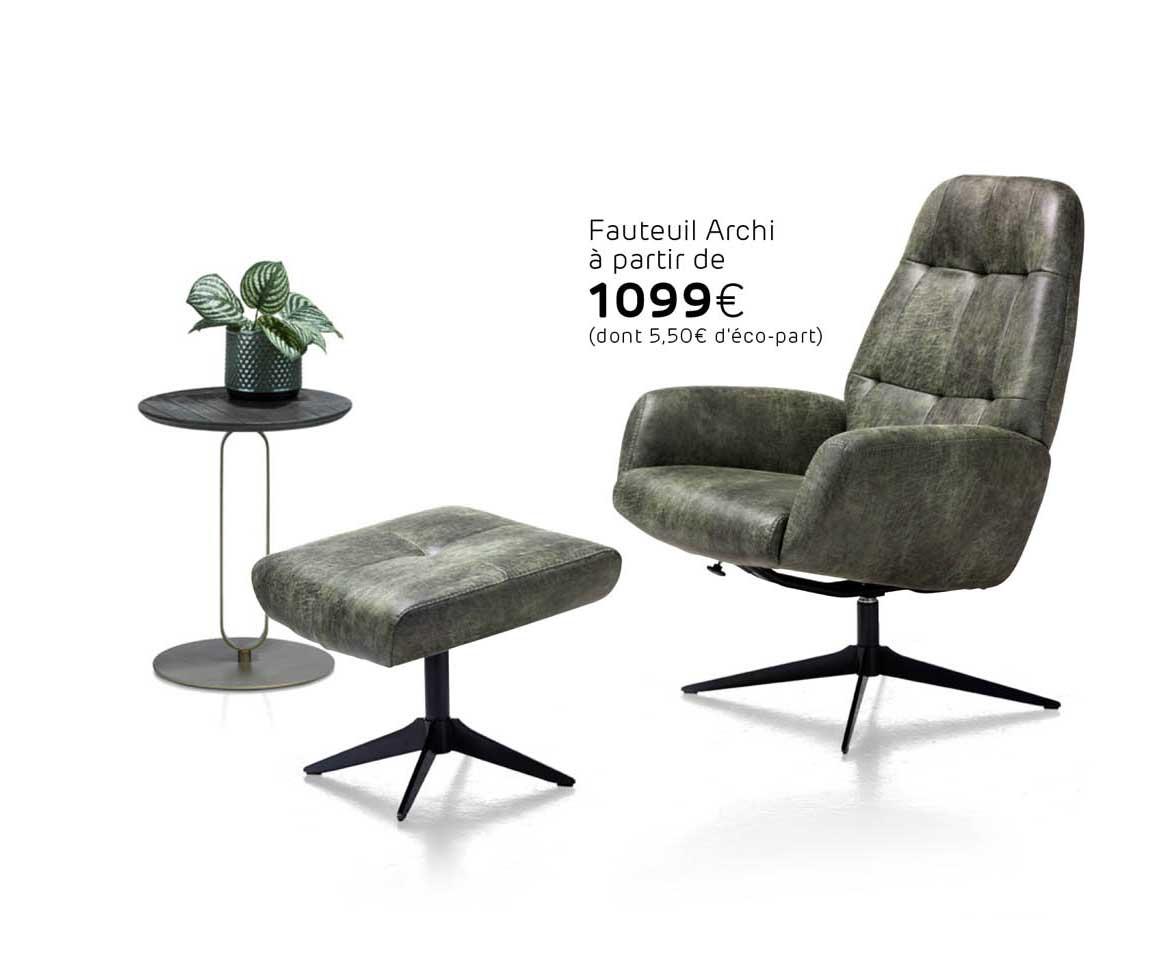 H&H Fauteuil Archi