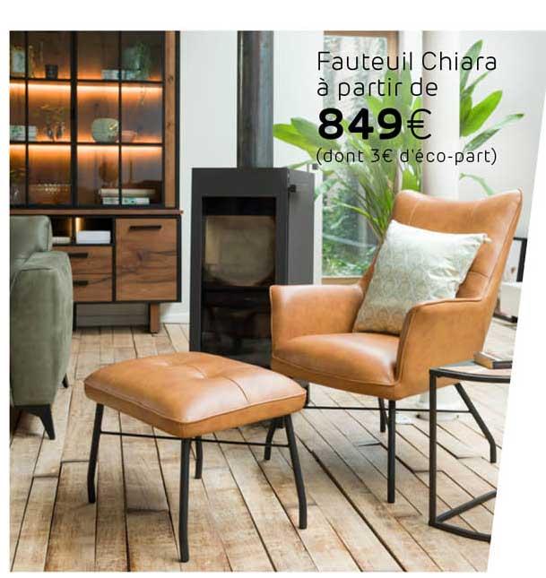 H&H Fauteuil Chiara