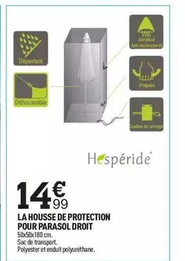 Centrakor La Housse De Protection Pour Parasol Droit