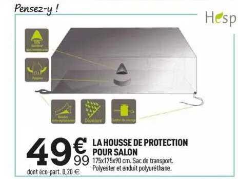 Centrakor La Housse De Protection Pour Salon