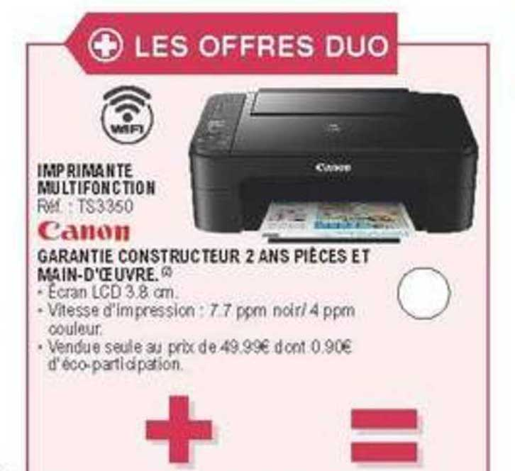 E.Leclerc Imprimante Multifonction Canon