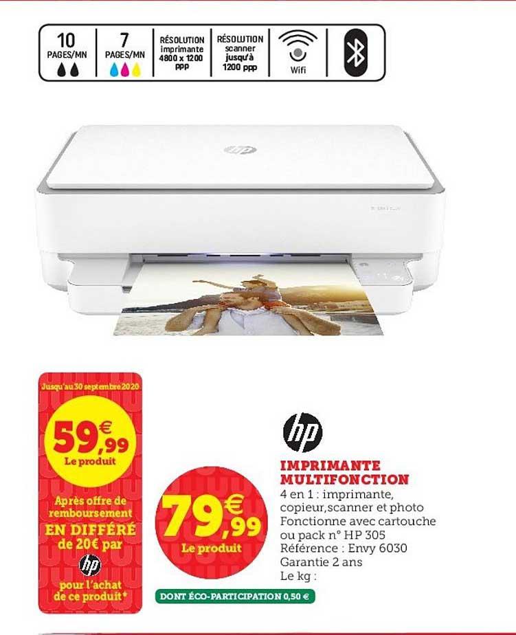 Super U Imprimante Multifonction Hp