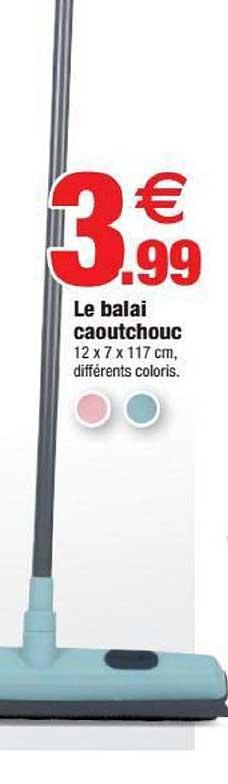 Offre Le Balai Caoutchouc chez Centrakor