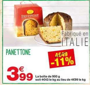 Grand Frais Panettone