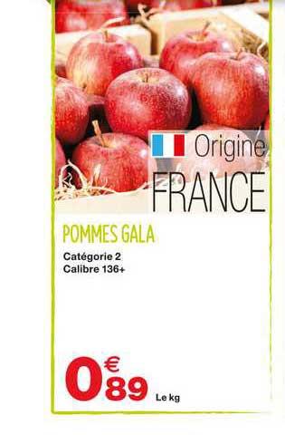 Grand Frais Pommes Gala