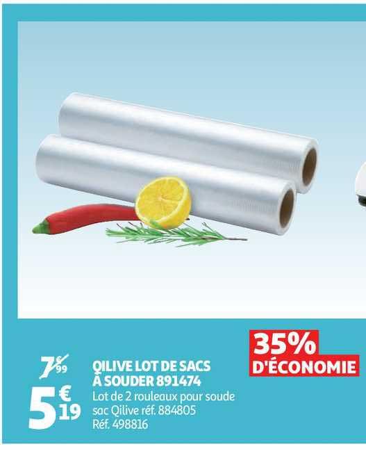 Auchan Qilive Lot De Sacs à Souder 891474