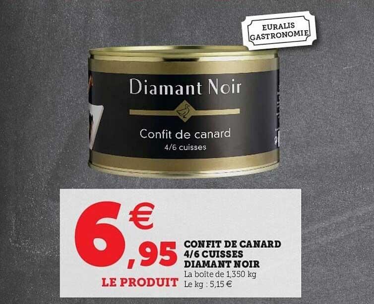 Hyper U Confit De Canard 4-6 Cuisses Diamant Noir