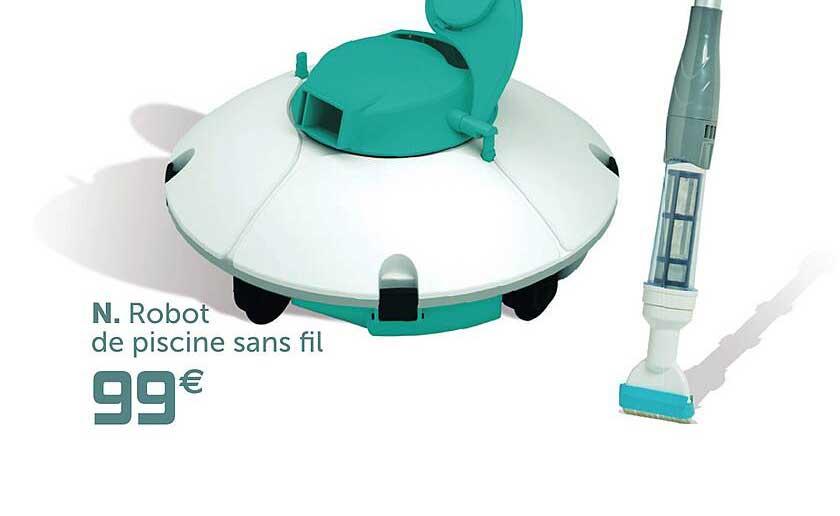 GiFi Robot De Piscine Sans Fil