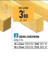 Brico Cash Demi Chevron