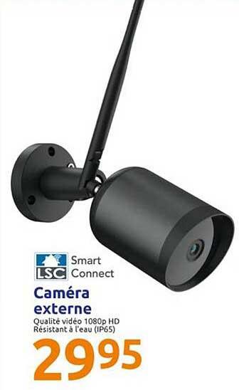 Action Caméra Externe Lsc Smart Connect