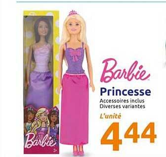 Action Princesse Barbie