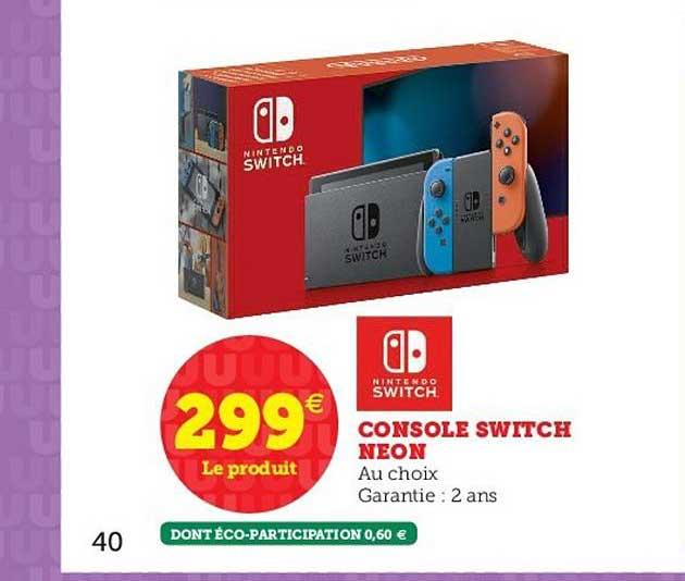 Hyper U Console Switch Nintendo Neon
