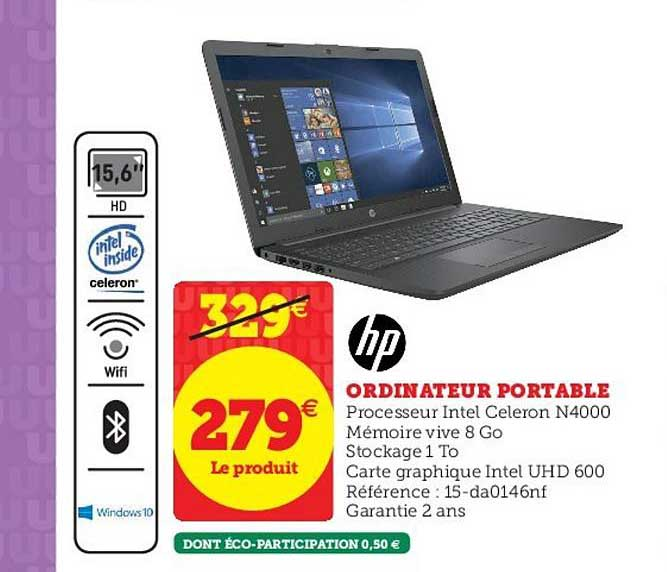 Hyper U Ordinateur Portable Hp