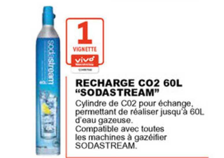 E.Leclerc Recharge Co2 60L Sodastream