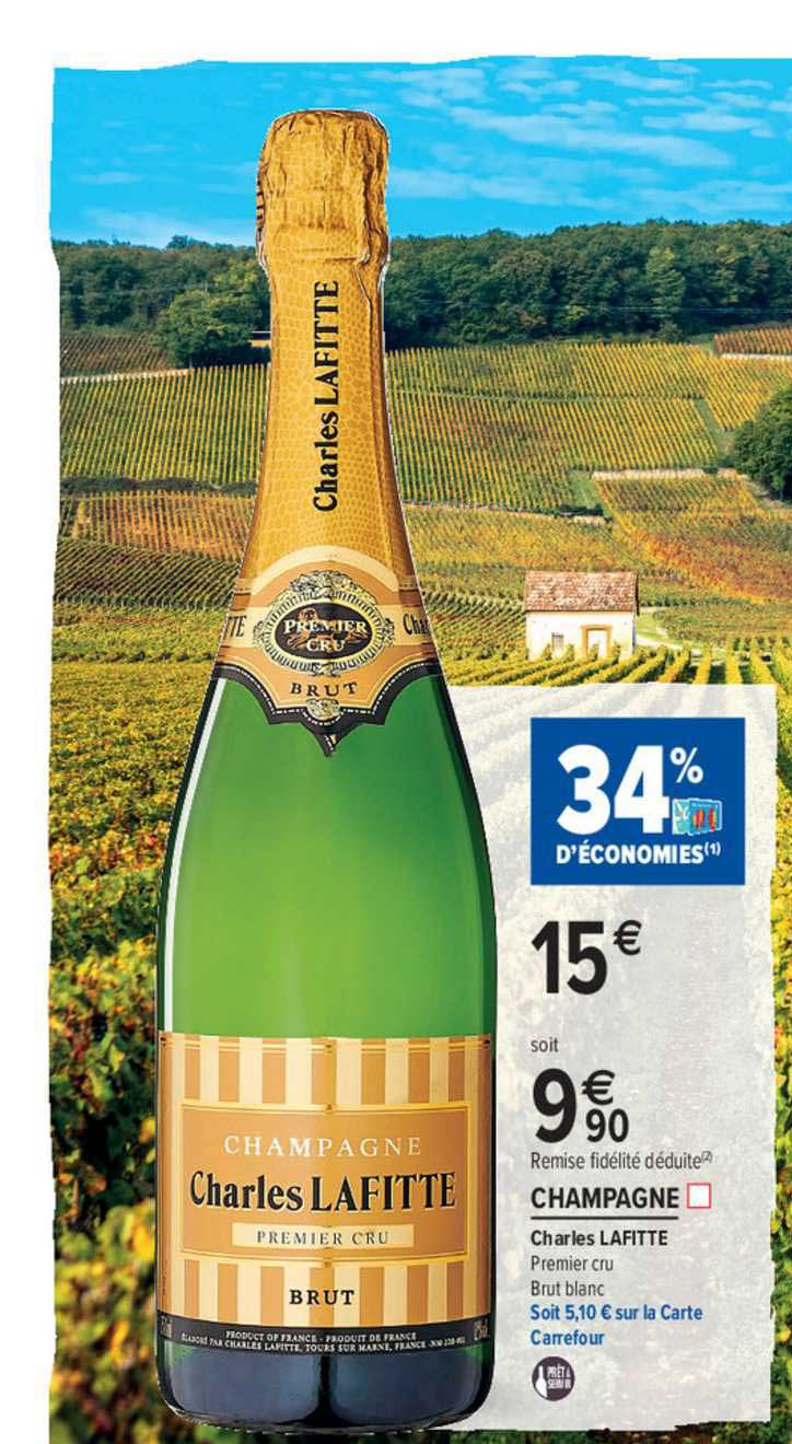Carrefour Market Champagne Charles Lafitte