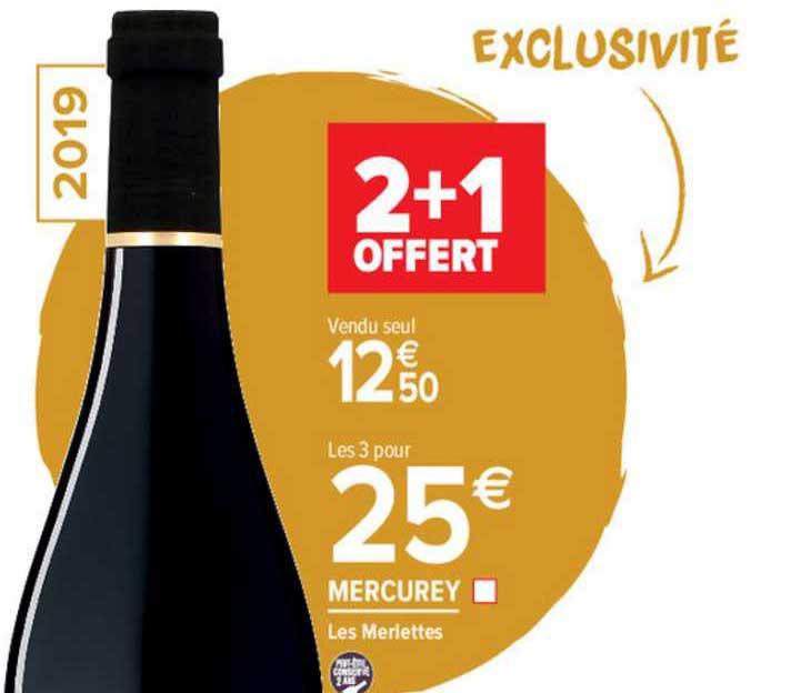 Carrefour Market Mercurey Les Merlettes 2+1 Offert