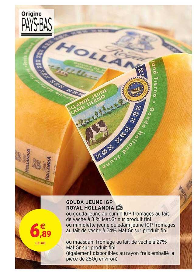 Intermarché Contact Gouda Jeune Igp Royal Hollandia