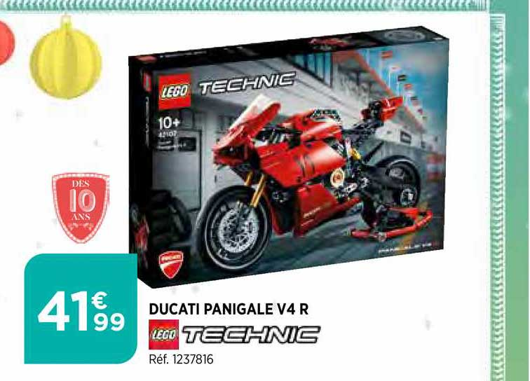 Bi1 Ducati Panigale V4 R Lego Technic