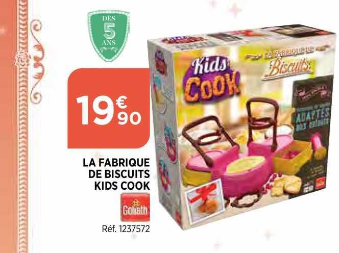 Bi1 La Fabrique De Biscuits Kids Cook Goliath