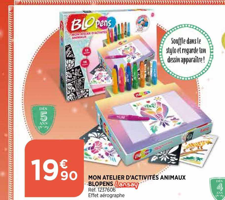 Bi1 Mon Atelier D'activités Animaux Blopens Lansay