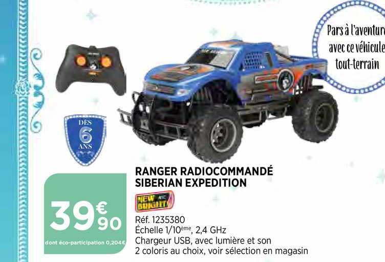 Bi1 Ranger Radiocommandé Siberian Expédition