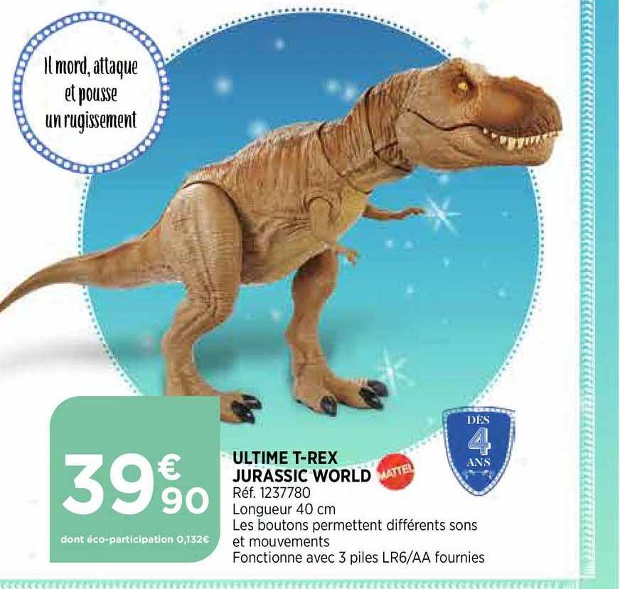 Bi1 Ultime T Rex Jurassic World