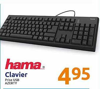 Action Clavier Hama