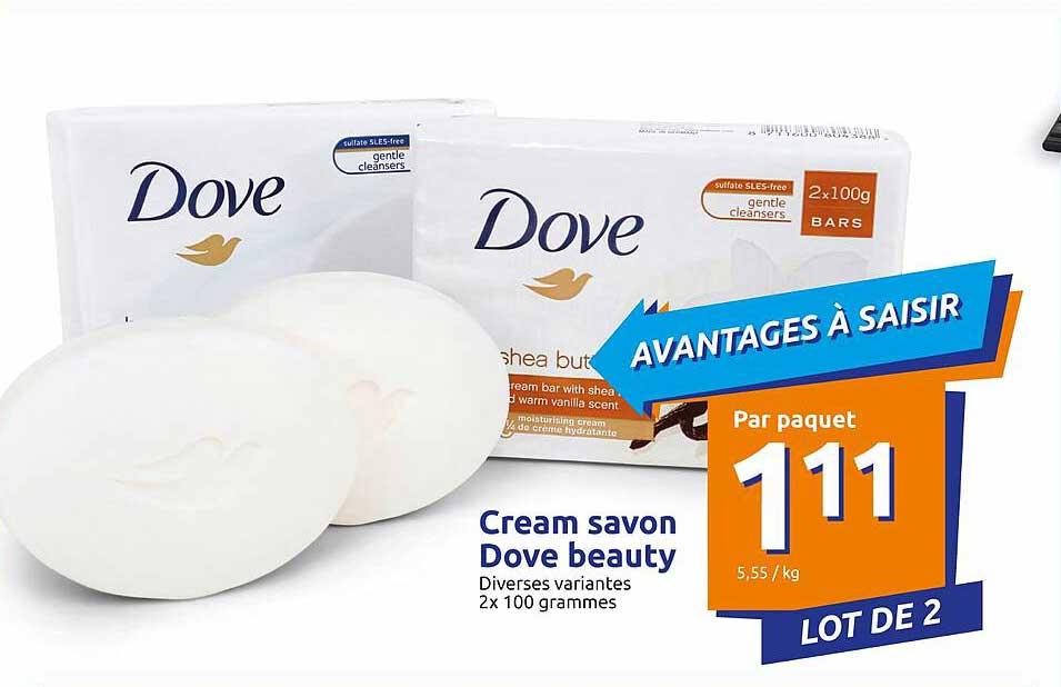 Action Cream Savon Dove Beauty