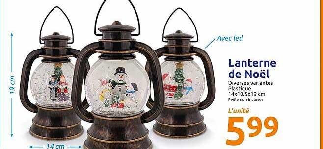 Action Lanterne De Noël