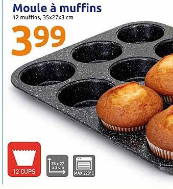 Action Moule à Muffins