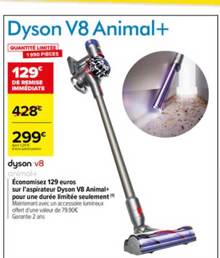 Carrefour Aspirateur Dyson V8 Animal+