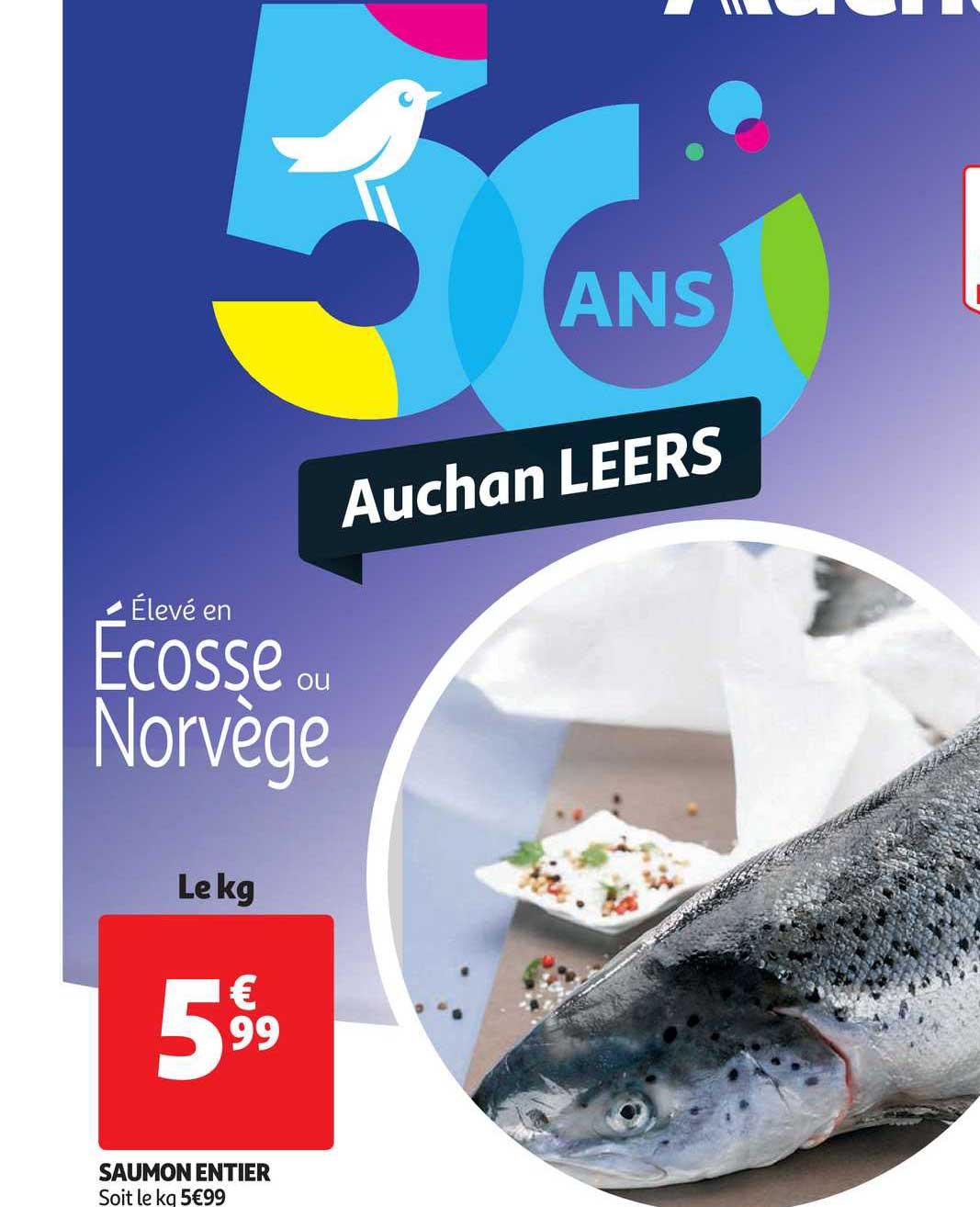 Auchan Direct Saumon Entier