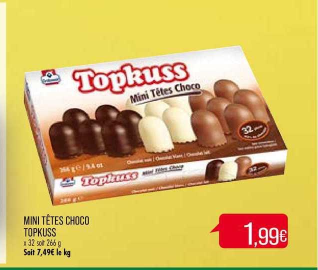Match Mini Têtes Choco Topkuss