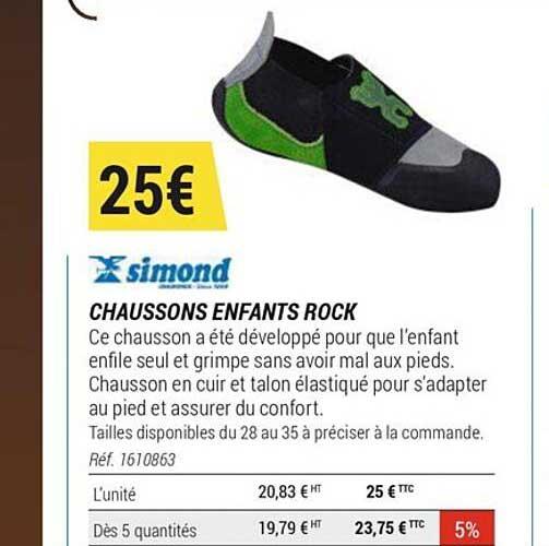 Offre Harnais Rock Simond Chez Decathlon
