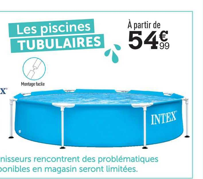 Centrakor Les Piscines Tubulaires Intex