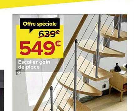 Castorama Escalier Gain De Place