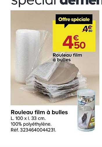 Offre Rouleau Film A Bulles Chez Castorama