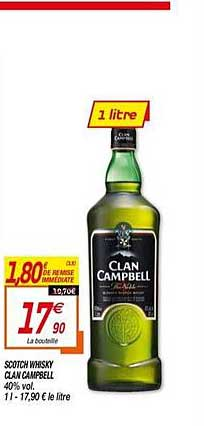 Netto Scotch Whisky Clan Campbell