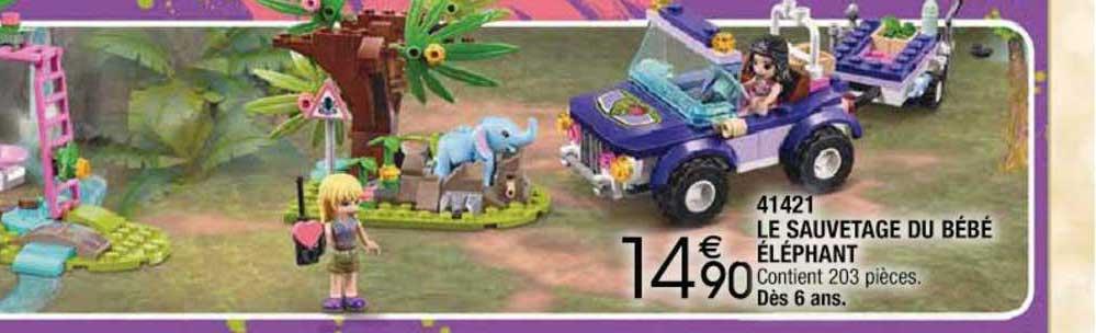 Cora 41421 Le Sauvetage Du Bébé éléphant