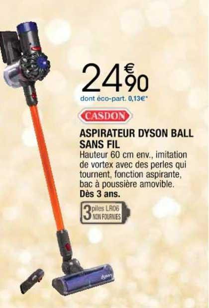 Cora Aspirateur Dyson Ball Sans Fil Casdon