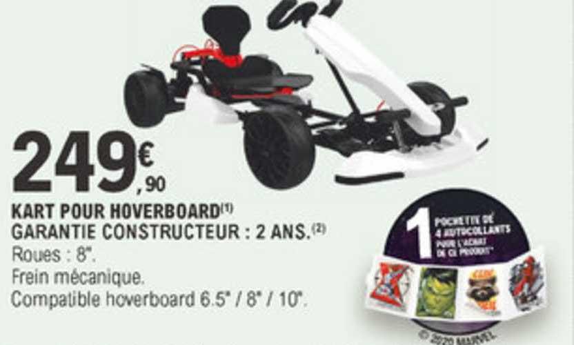 E.Leclerc Kart Pour Hoverboard Garantie Constructeur
