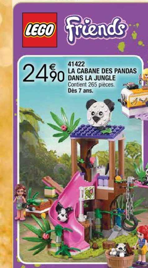 Cora Lego Friends 41422 La Cabane Des Pandas Dans Le Jungle