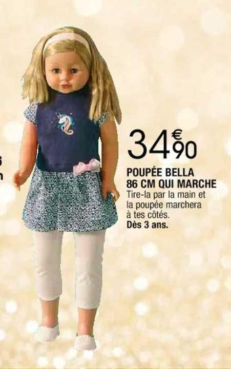 Cora Poupée Bella 86 Cm Qui Marche